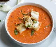 rijkelijke soep bijkomen aankomen gewicht