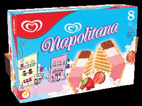 ola napolitana drie kleuren ijs ijsje portie calorie suiker gezond